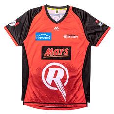 Melbourne Renegades 2019 Mens Jersey Red S, Red, rebel_hi-res