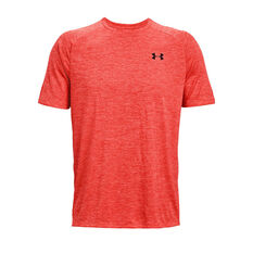 Under Armour Mens Tech 2.0 Training Tee Red XS, Red, rebel_hi-res