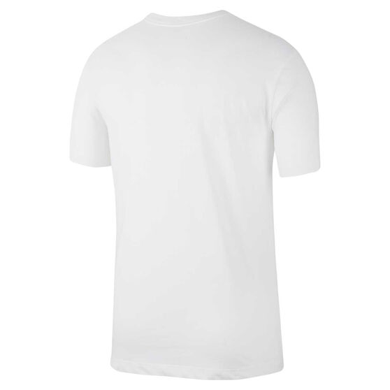Nike Mens Dri-FIT Training Tee White S, White, rebel_hi-res