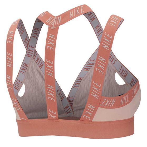 Nike Womens Indy Light Support Sports Bra Pink XL, Pink, rebel_hi-res