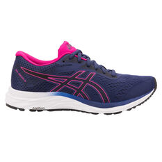 Asics GEL Excite 6 Womens Running Shoes Blue / Pink US 6, Blue / Pink, rebel_hi-res