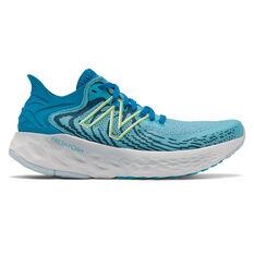 New Balance 1080v11 Womens Running Shoes Blue US 6, Blue, rebel_hi-res