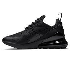 Nike Air Max 270 Kids Casual Shoes Black US 4, Black, rebel_hi-res
