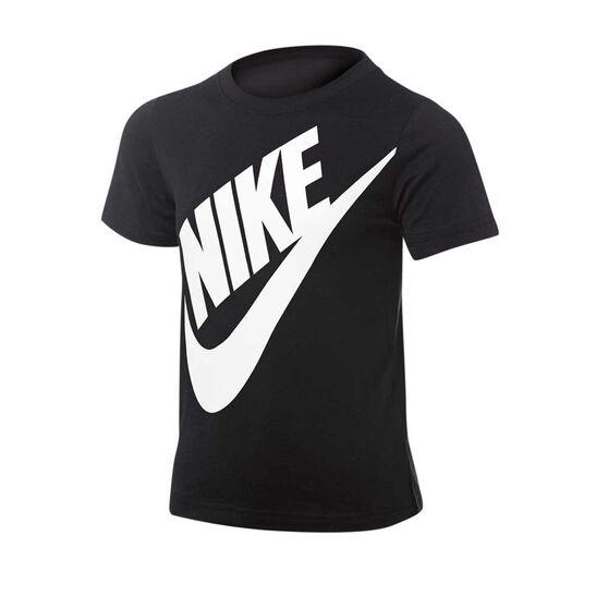522650e3 Nike Boys Jumbo Futura Tee, Black, rebel_hi-res