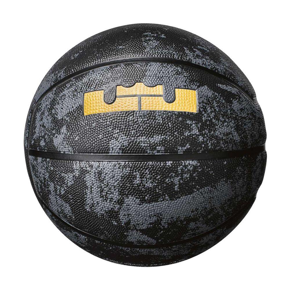 157002d461d Nike LeBron Playground Basketball Black   Gold 7