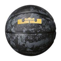 Nike LeBron Playground Basketball Black / Gold 7, , rebel_hi-res