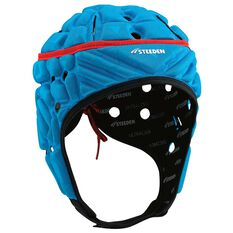 Steeden Super Lite Headgear Blue Junior, Blue, rebel_hi-res