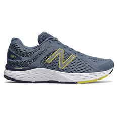 New Balance 680v6 Mens Running Shoes Blue US 7, Blue, rebel_hi-res