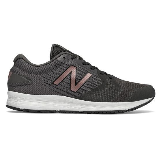 New Balance Flash Womens Running Shoes, Black / Bronze, rebel_hi-res