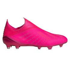 adidas X 19+ Football Boots Pink US Mens 7 / Womens 8, Pink, rebel_hi-res