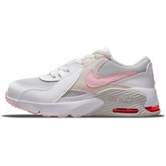 Nike Air Max Excee Kids Casual Shoes White/Pink US 11, White/Pink, rebel_hi-res