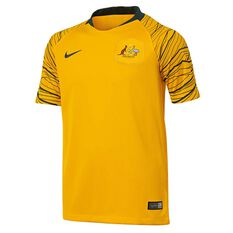Socceroos 2018 Kids Home Football Jersey, , rebel_hi-res