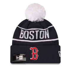 Boston Red Sox 2019 New Era Homerun Knit Beanie, , rebel_hi-res