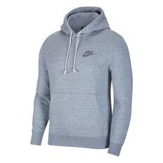 Nike Sportswear Mens Hoodie Grey XS, Grey, rebel_hi-res