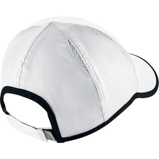 Nike Featherlight Cap White   Black OSFA  7c803f13376