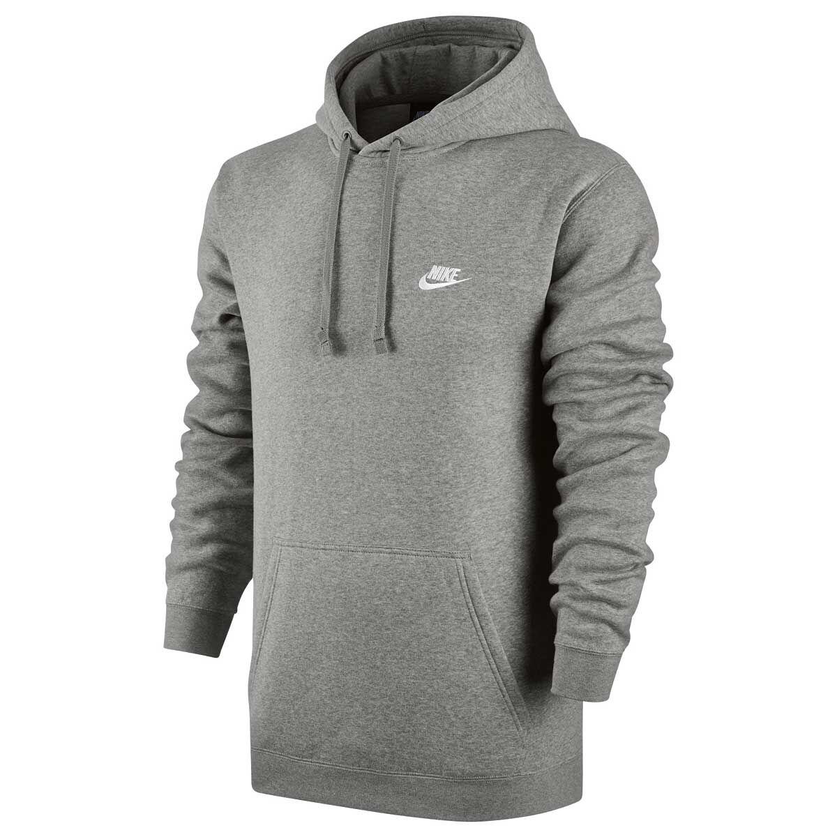 Nike Mens Sportswear Club Hoodie Grey L