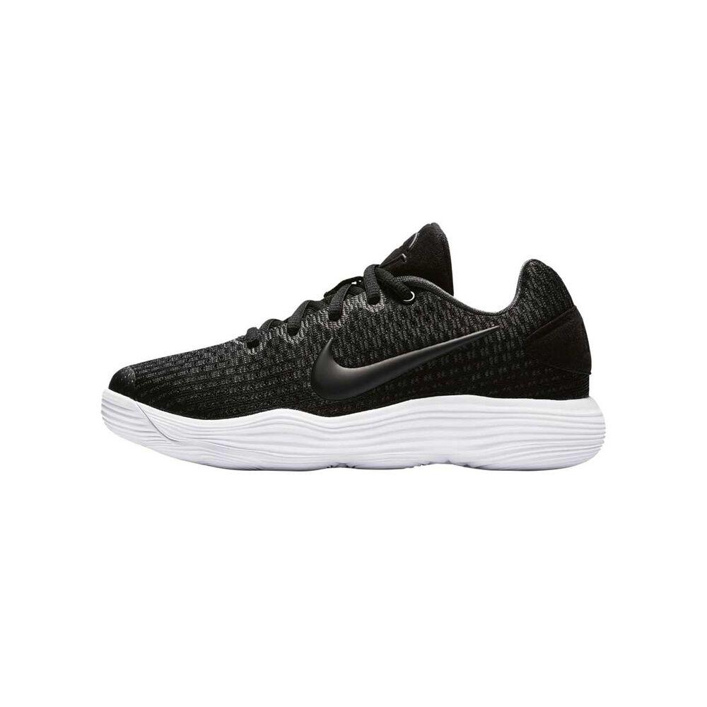 879697820ce7 ... Nike Hyperdunk Low 2017 Boys Basketball Shoes Black Silver US 4