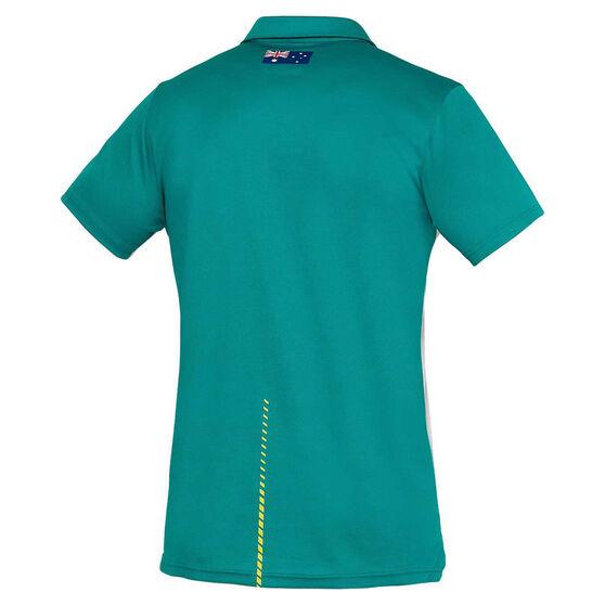 Cricket Australia 2020/21 Mens Training Shirt, Grey, rebel_hi-res