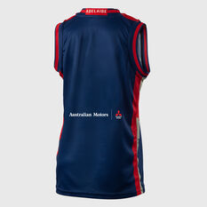 Adelaide 36ers 2018 / 19 Kids Home Jersey Blue 8, Blue, rebel_hi-res