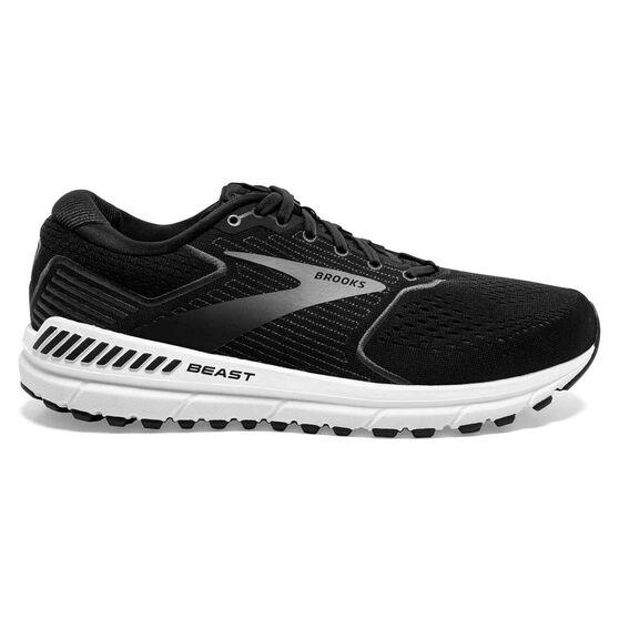Brooks Beast 20 2E Mens Running Shoes, Black, rebel_hi-res