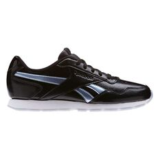 Reebok Royal Glide Womens Casual Shoes Black / Silver US 6, Black / Silver, rebel_hi-res