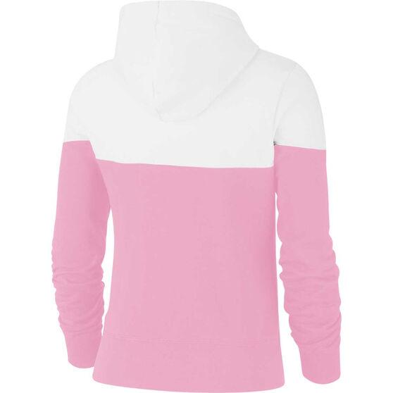 Nike Womens Sportswear Heritage Hoodie, Pink, rebel_hi-res