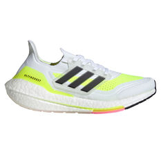adidas Ultraboost 21 Womens Running Shoes White/Black US 6, White/Black, rebel_hi-res