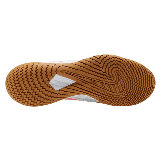 Nike Air Zoom Vapor Cage 4 Hardcourt Mens Tennis Shoes, White / Crimson, rebel_hi-res