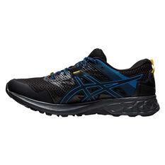 Asics GEL Sonoma 5 Mens Trail Running Shoes Black US 7, Black, rebel_hi-res