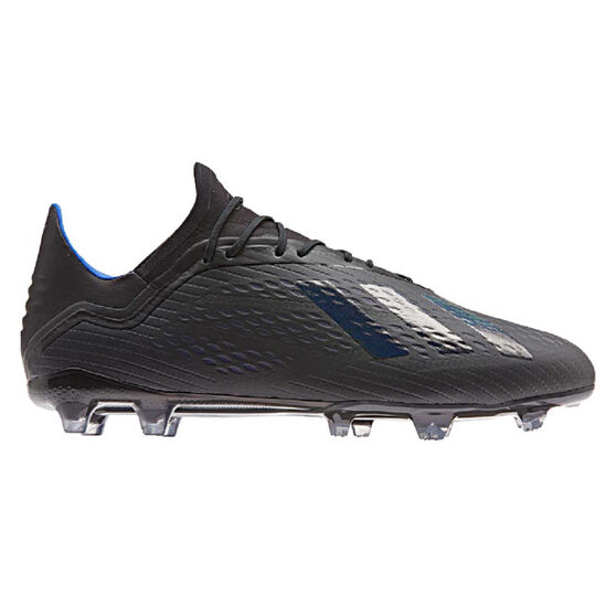 adidas X 18.2 Mens Football Boots Black US Mens 11 / Womens 12, Black, rebel_hi-res