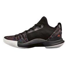 separation shoes fa2ff 67c34 ... Under Armour Curry 5 Kids Basketball Shoes Black US 4, Black,  rebelhi-res