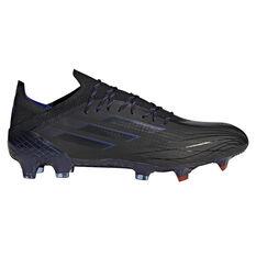 adidas X Speedflow .1 Football Boots Black/Pink US Mens 7 / Womens 8, Black/Pink, rebel_hi-res