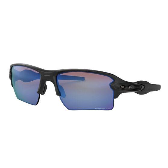 Oakley Flak 2.0 XL Polarised Sunglasses Matte Black/Polarized Prizm, Matte Black/Polarized Prizm, rebel_hi-res