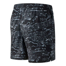 New Balance Mens Tenacity 7in Woven Shorts Black S, Black, rebel_hi-res
