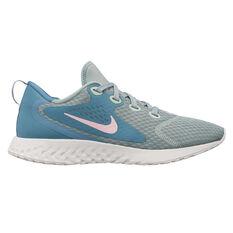 Nike Legend React Womens Running Shoes Green / Pink US 6, Green / Pink, rebel_hi-res