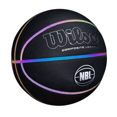 Wilson NBL Highlight 2.0 Basketball Black / Multi 7, Black / Multi, rebel_hi-res