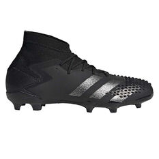 adidas Predator 20.1 Kids Football Boots Black US 11, Black, rebel_hi-res