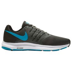 Nike Run Swift Mens Running Shoes Grey / Blue US 7, Grey / Blue, rebel_hi-res