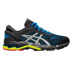 Asics GEL Kayano 26 Liteshow 2.0 Mens Running Shoes Grey US 7, Grey, rebel_hi-res