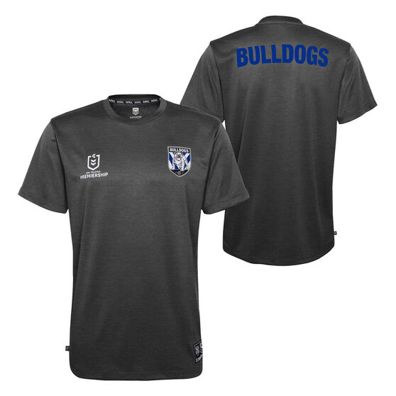 Canterbury Canterbury-Bankstown Bulldogs 2021 Kids Performance Polo, Black, rebel_hi-res