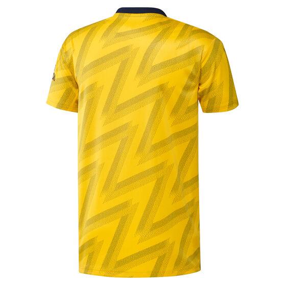 Arsenal FC 2019/20 Mens Away Jersey, Gold / Black, rebel_hi-res