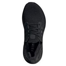 adidas Ultraboost 20 Womens Running Shoes, Black/Red, rebel_hi-res
