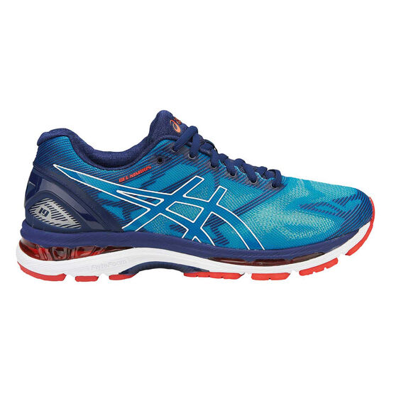 f85082c847c7 Asics Gel Nimbus 19 Mens Running Shoes Blue   White US 7