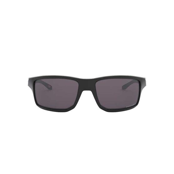 Oakley Gibston Sunglasses Polished Black / Prizm Grey, Polished Black / Prizm Grey, rebel_hi-res