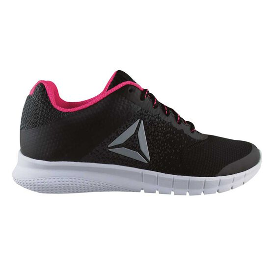 e8740ee78539 Reebok Instalite Womens Running Shoes Black   White US 6.5