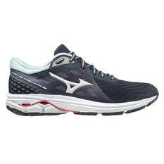 Mizuno Wave Kizuna 2 Womens Running Shoes Black/Blue US 6, Black/Blue, rebel_hi-res
