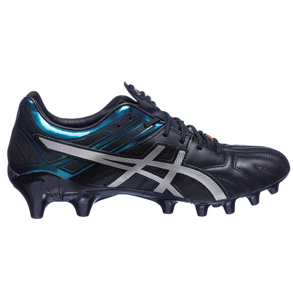 9b75999aa9df Asics GEL Lethal Tigreor 10 IT Mens Football Boots Black   Silver US 9.5  Adult