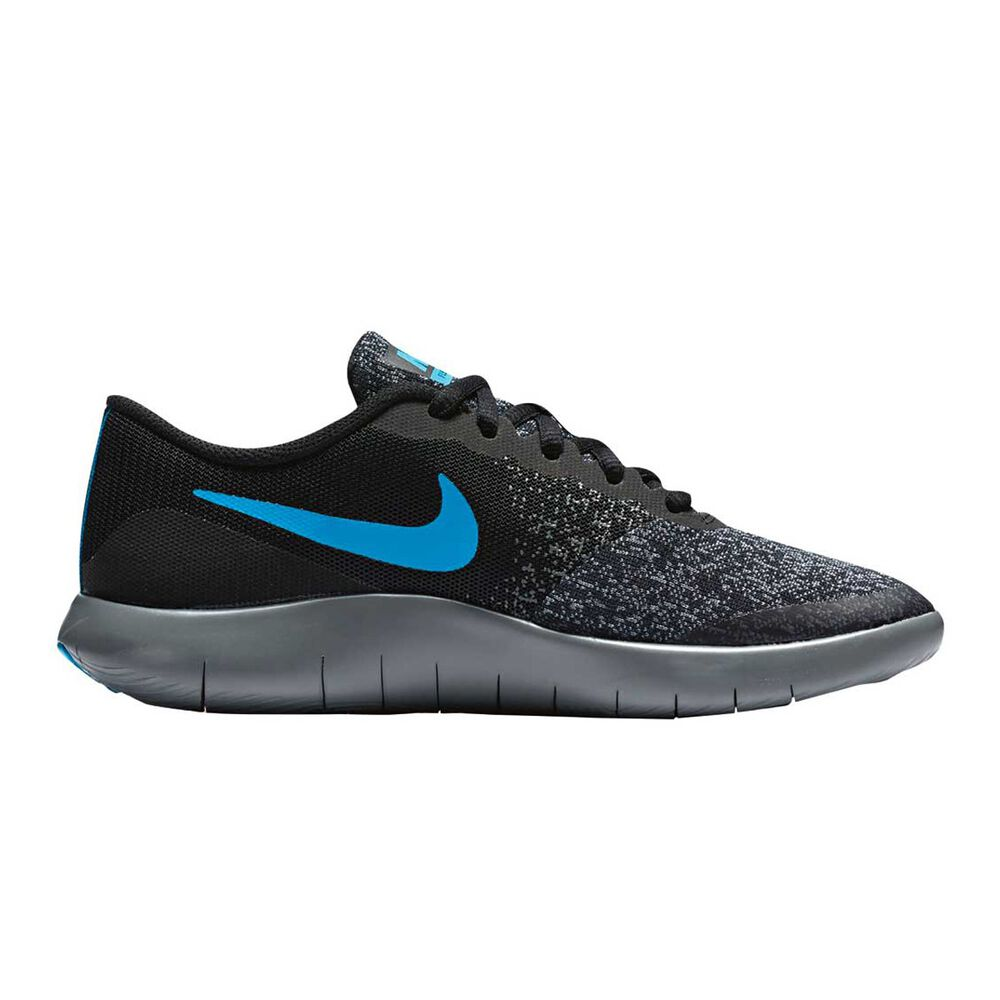 c2b77c48a4bc9 Nike Flex Contact Boys Running Shoes Black   Grey US 7
