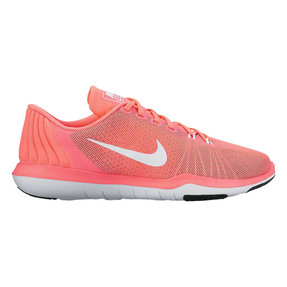 b57a76334a5d Nike Flex Supreme 5 Womens Training Shoes Orange   White US 6.5 ...
