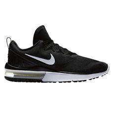 Nike Air Max Fury Mens Running Shoes Black / White US 7, Black / White, rebel_hi-res
